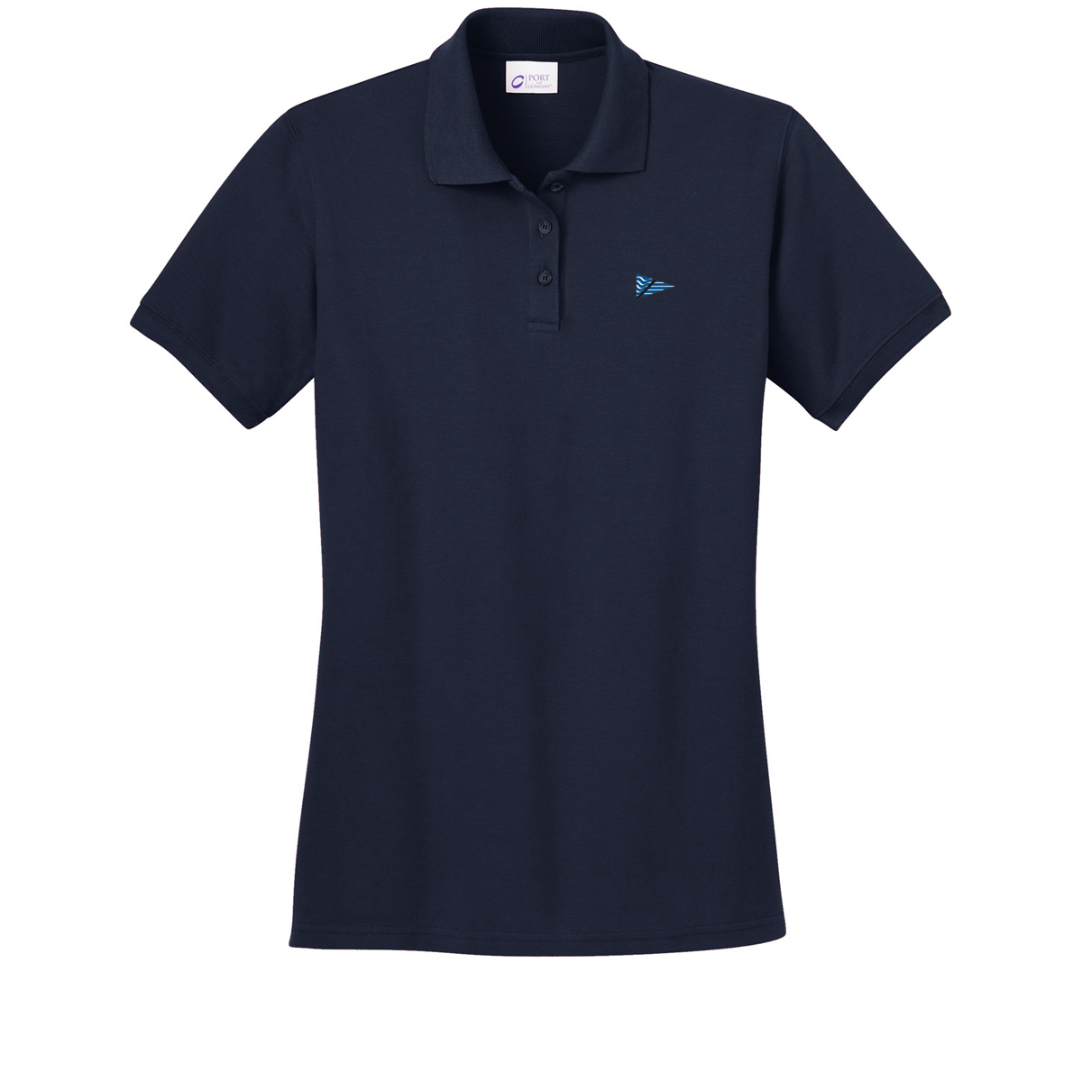 Breakwater Yacht Club-W's Cotton Polo