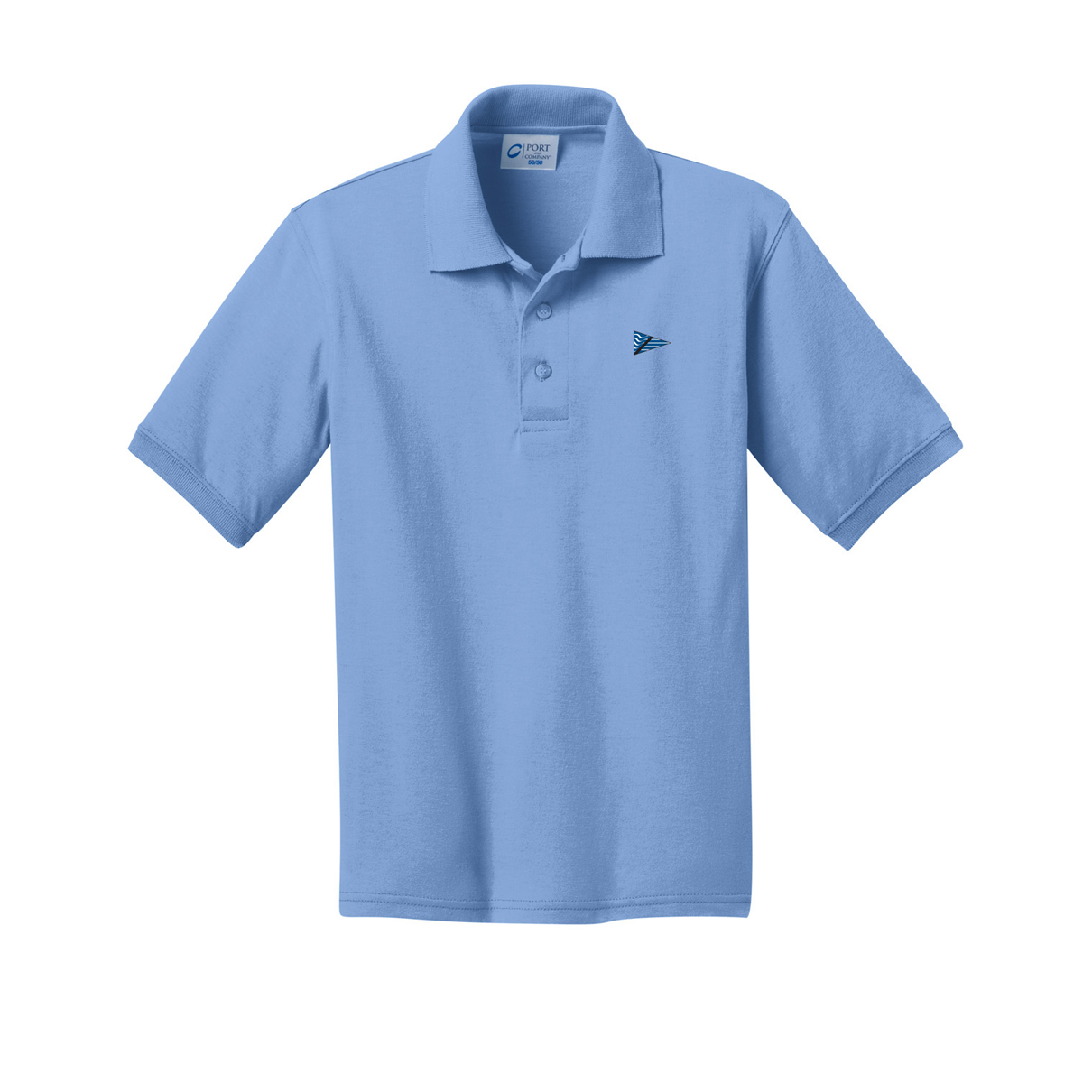Breakwater Yacht Club - Kid's Cotton Polo