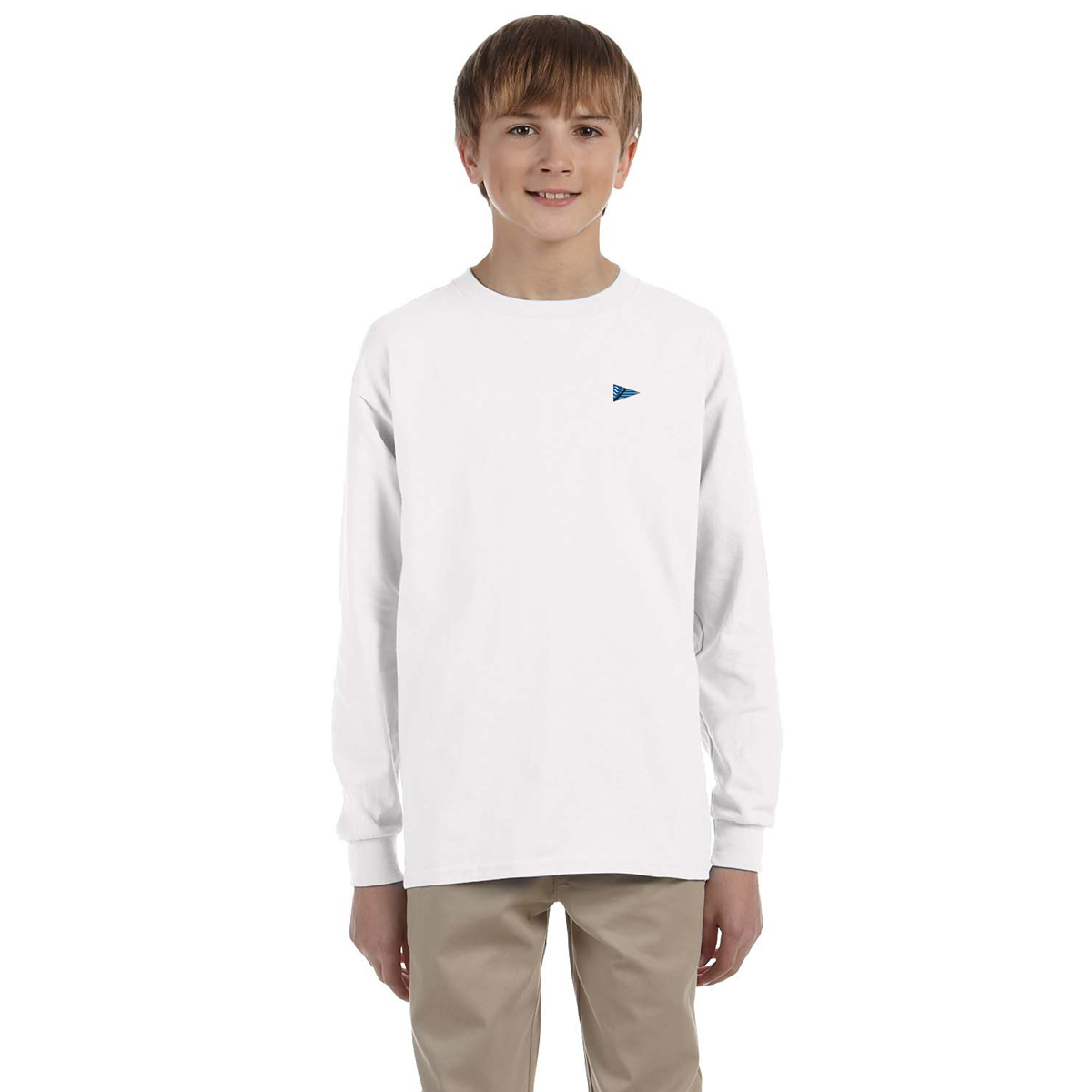 Breakwater Yacht Club-K's L/S Tech Tee