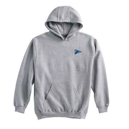 Breakwater Yacht Club- Youth Hooded Sweatshirt