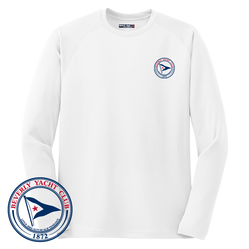 Beverly Yacht Club - Men's Long Sleeve Tech Tee (BYC209)