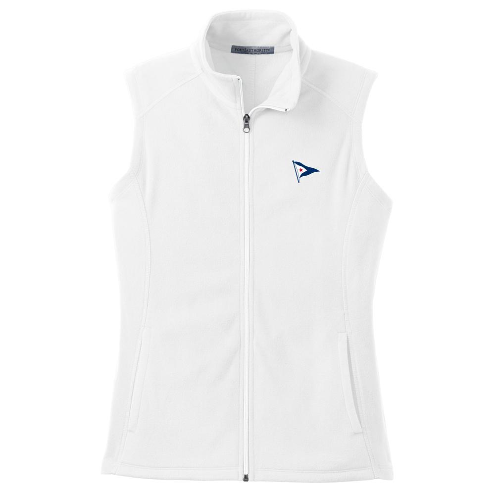 Beverly Yacht Club - Women's Fleece Vest (BYC506)