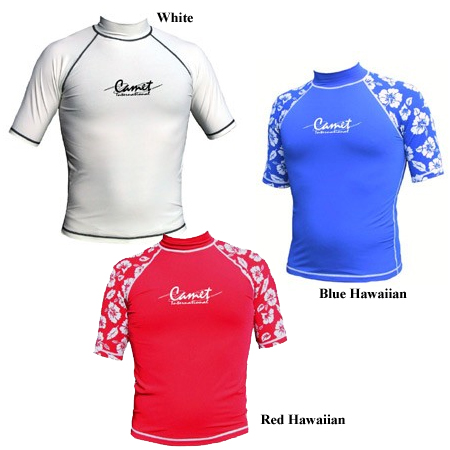 CAMET SHORT SLEEVE RASH GUARD (W734)