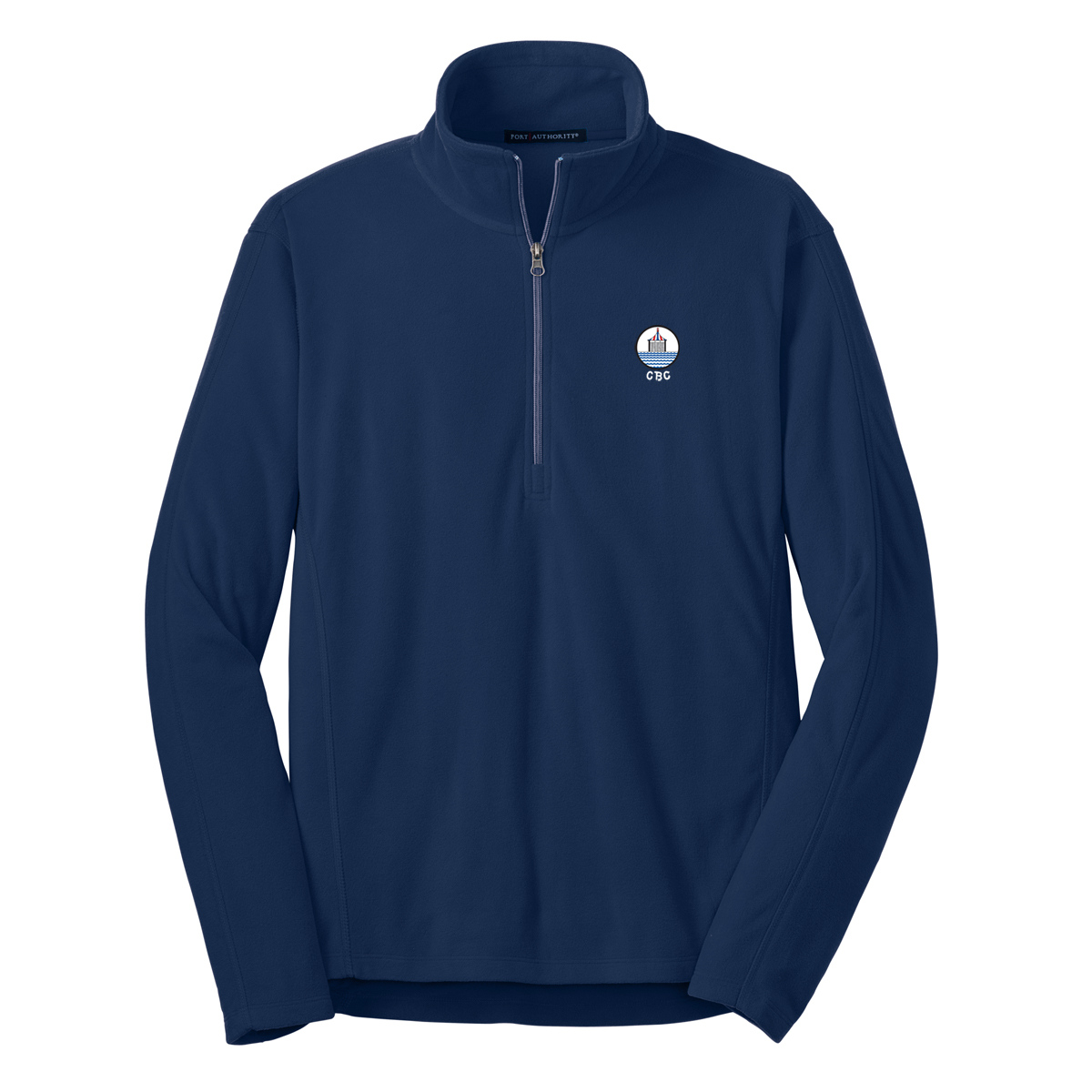 Chappaquiddick Beach Club - Men's Microfleece 1/4 Zip Pullover