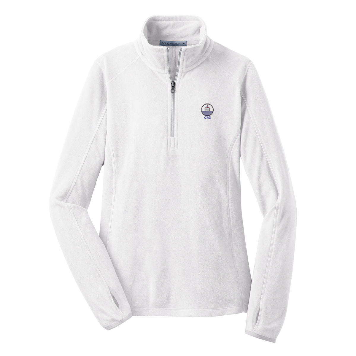 Chappaquiddick Beach Club - Women's Microfleece 1/4 Zip Pullover