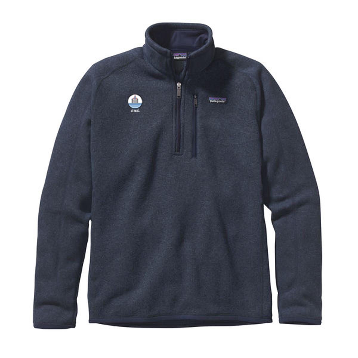 Chappaquiddick Beach Club - Men's Patagonia Better Sweater 1/4 Zip Fleece
