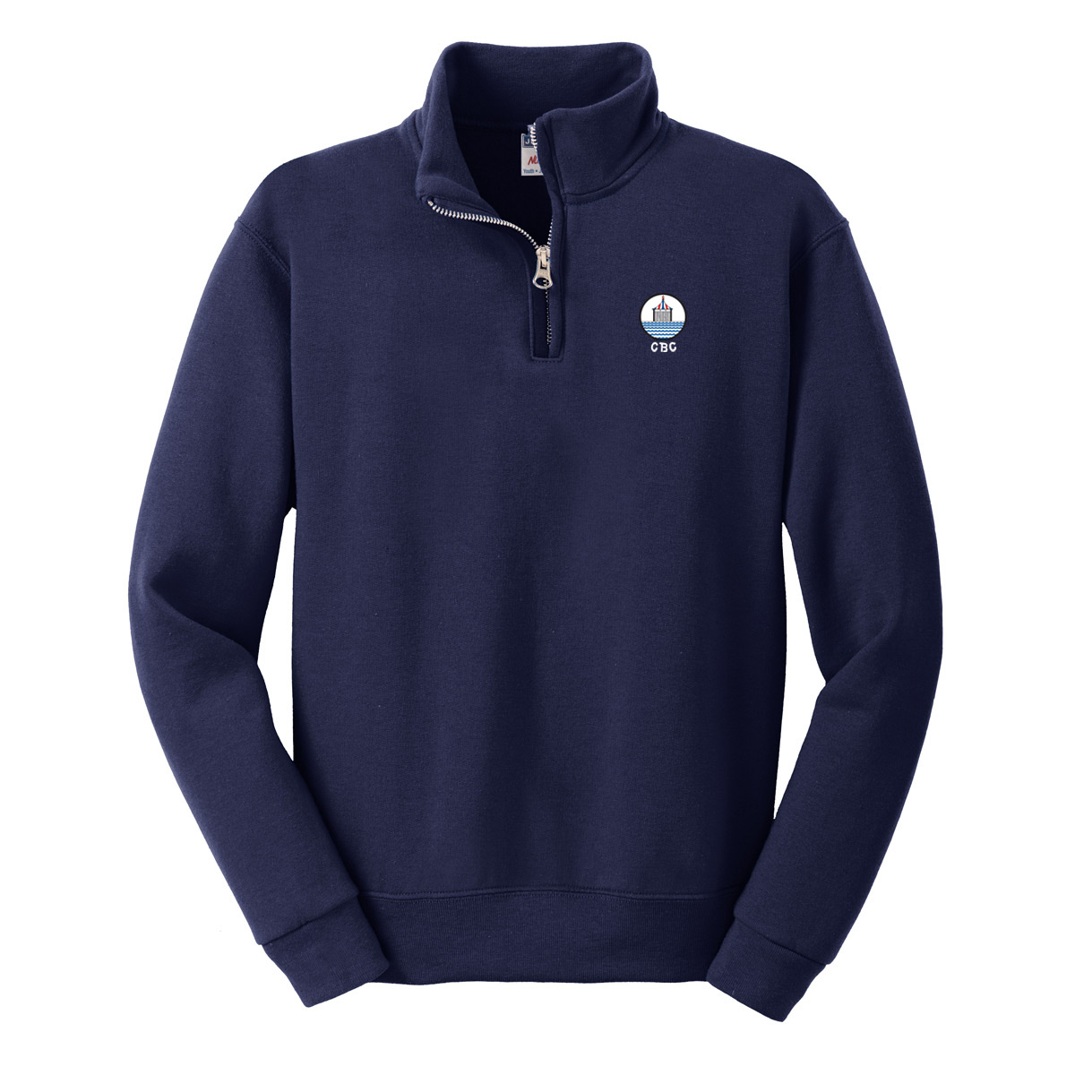 CBC - K's 1/4 ZIP SWEATSHIRT