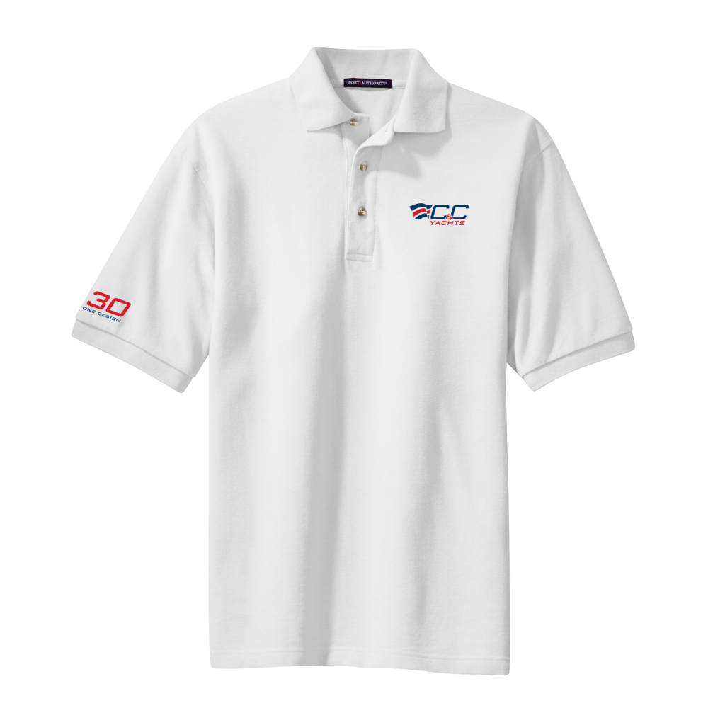 C&C Yachts-30 One Design - Men's Cotton Polo