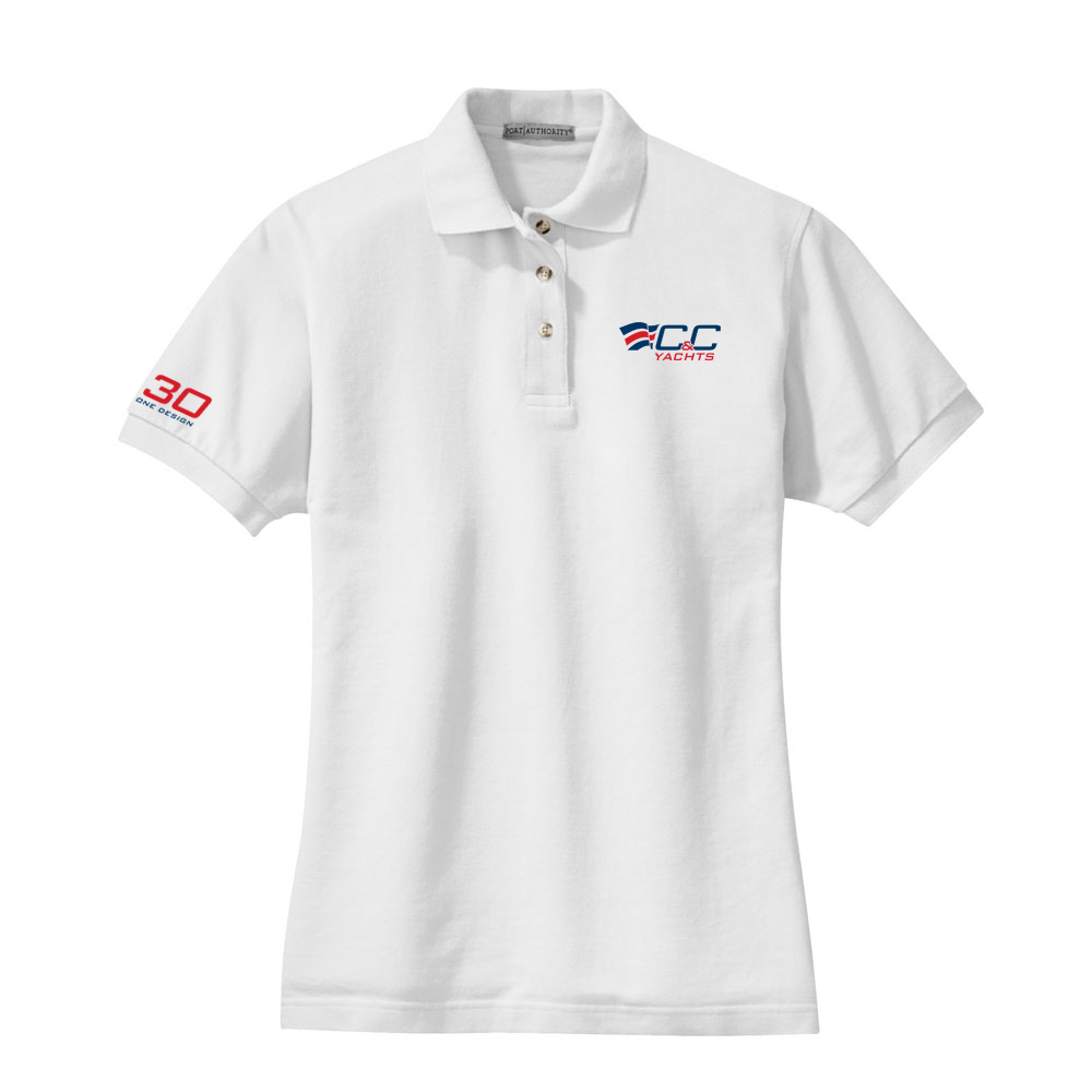 C&C YACHTS - Women's 30 ONE DESIGN COTTON POLO