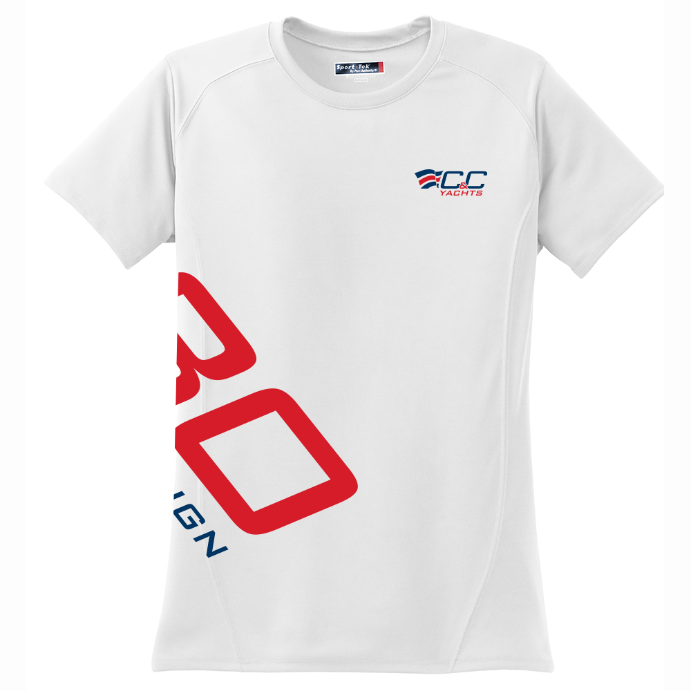 C&C Yachts - 30 One Design - Women's Tech Tee S/S