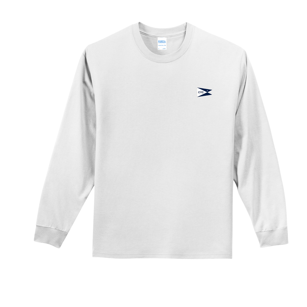 CENYC MEN'S LS COTTON TEE