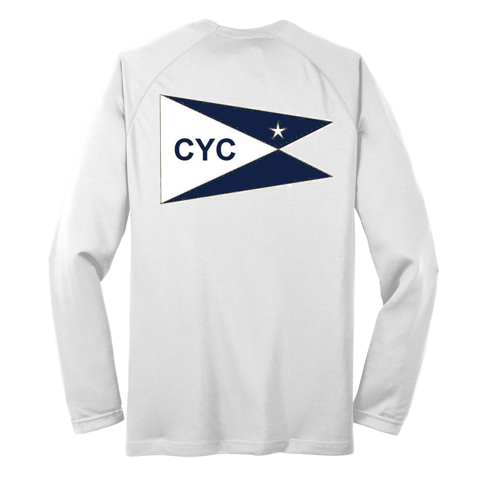 Centerboard Yacht Club- Men's Tech Tee L/S