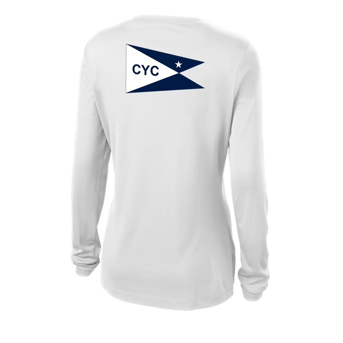 Centerboard Yacht Club- Women's Tech Tee L/S