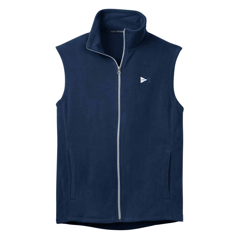 Centerboard Yacht Club- Men's Fleece Vest