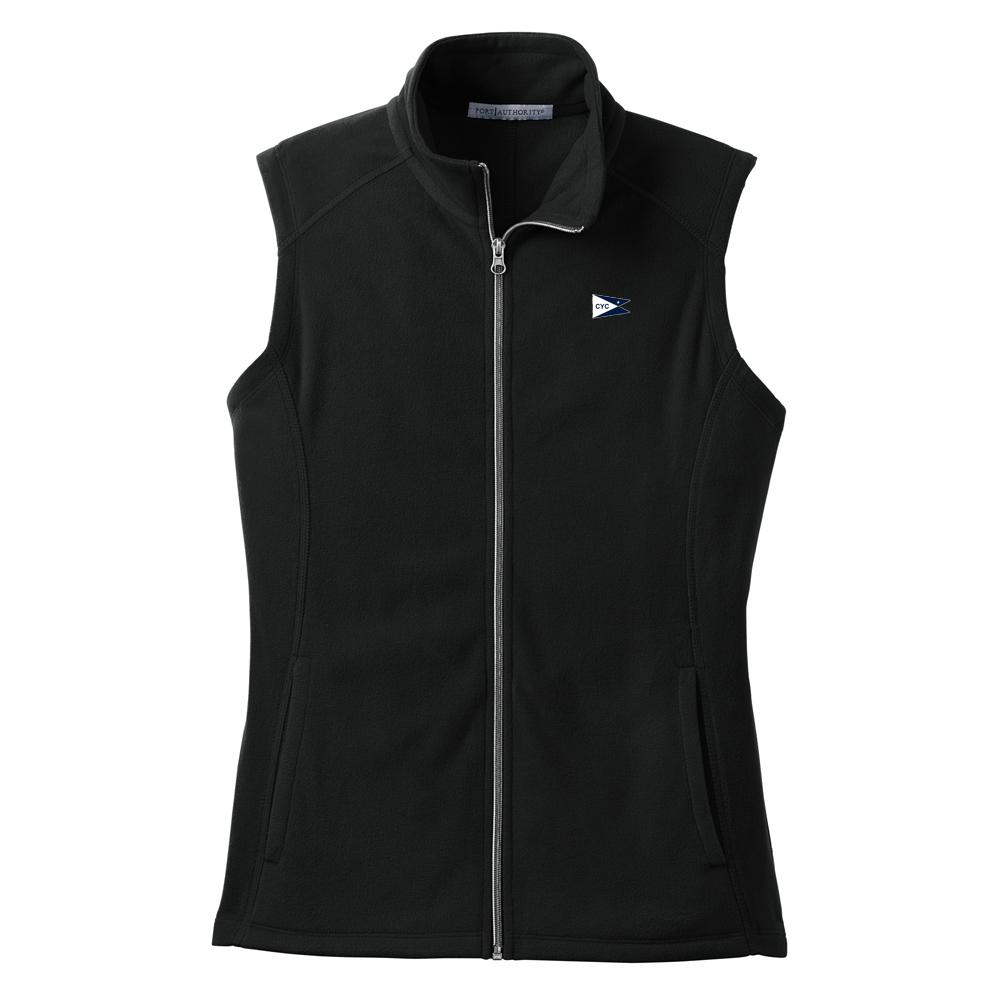 Centerboard Yacht Club- Women's Fleece Vest