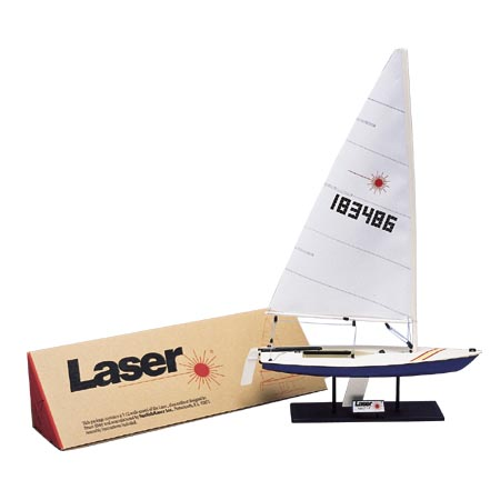 Class Sail International Laser Boat Model (LAS)