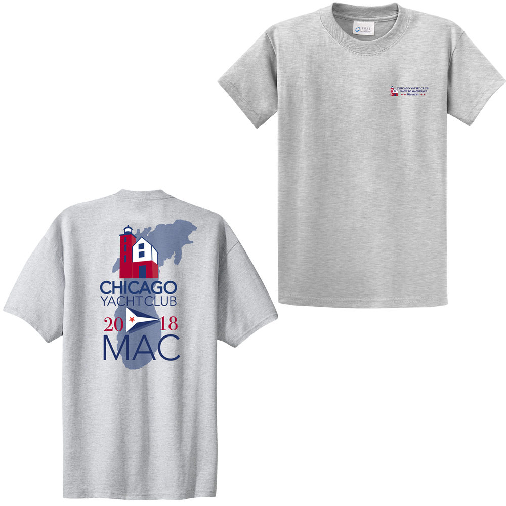 Chicago Mackinac Race 2018 - Men's Cotton Tee