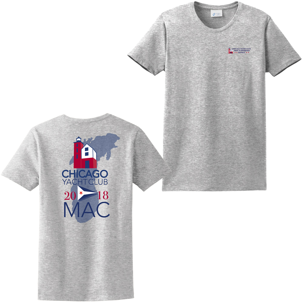 Chicago Mackinac Race 2018 - Women's Cotton Tee