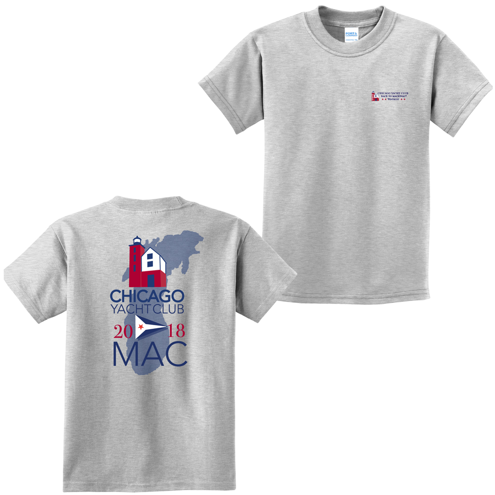 Chicago Mackinac Race 2018 - Kids Cotton Tee