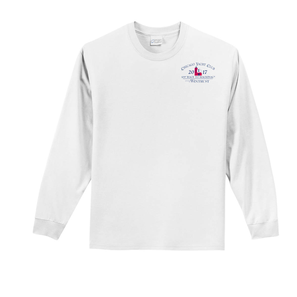 Chicago Mackinac 2017 - Youth Long Sleeve Cotton Tee