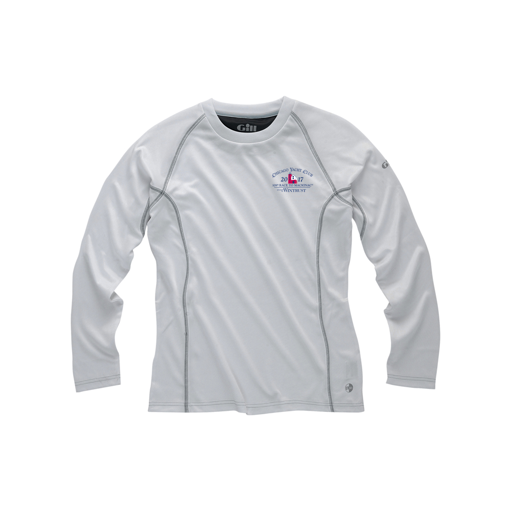 Chicago Mackinac Race 2017 - Men's Long Sleeve UV Tec Tee