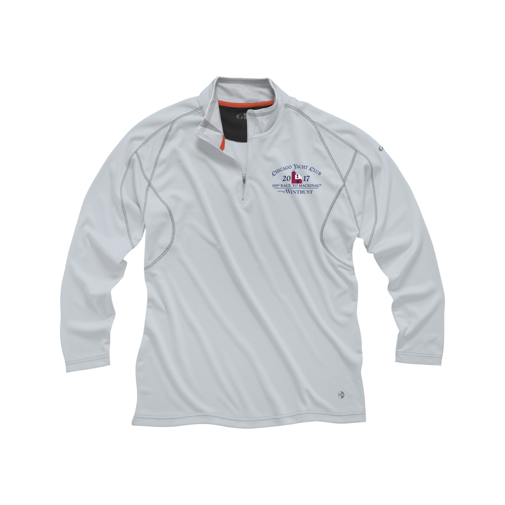 CMR 2017-W'S UV TECH 1/4 ZIP POLO