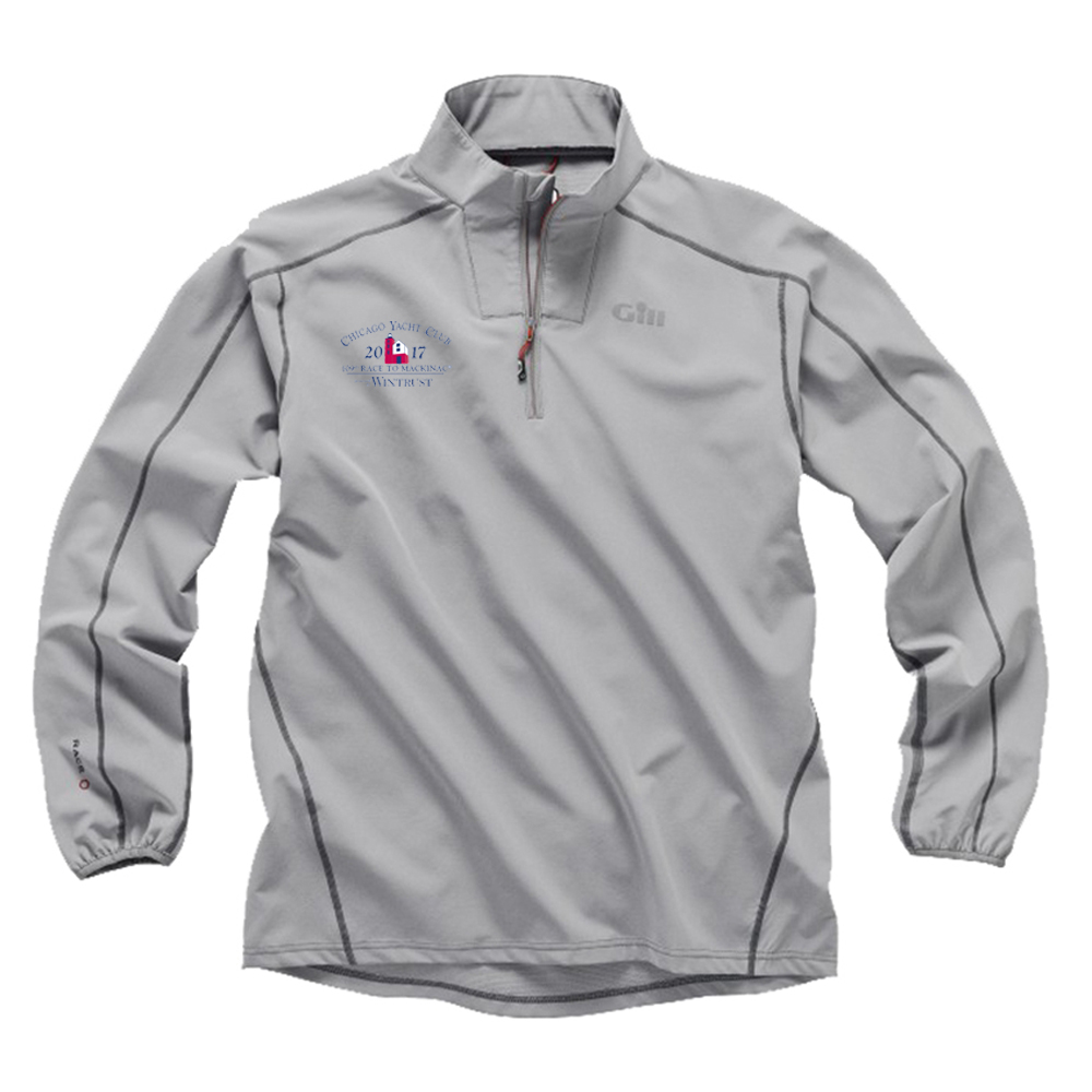Chicago Mackinac Race 2017 - Men's Race Softshell 1/4 Zip Smock