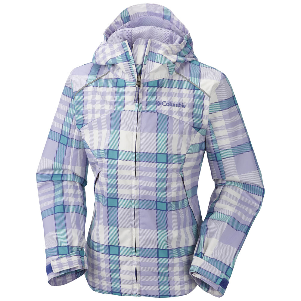 COLUMBIA GIRLS WET REFLECT JACKET (RG3412)