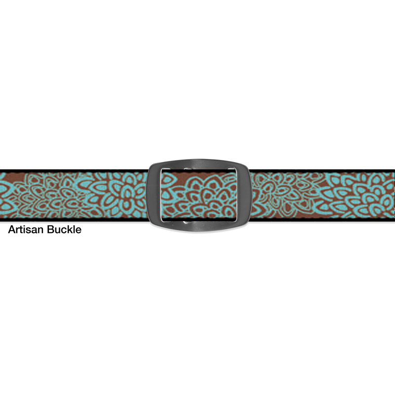 Croakies BELT MUM TURQUOISE ARTISAN NARROW