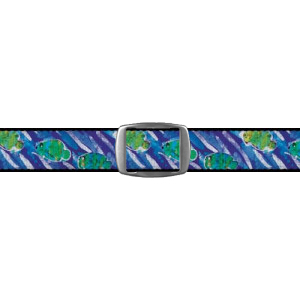 Croakies A2 Artisan Buckle - Turtles (BA2A2720M)