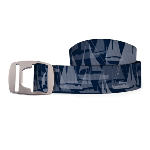 Croakies A2 Bottle Opener Nautical - Sailboat Navy (BA2B1410M)