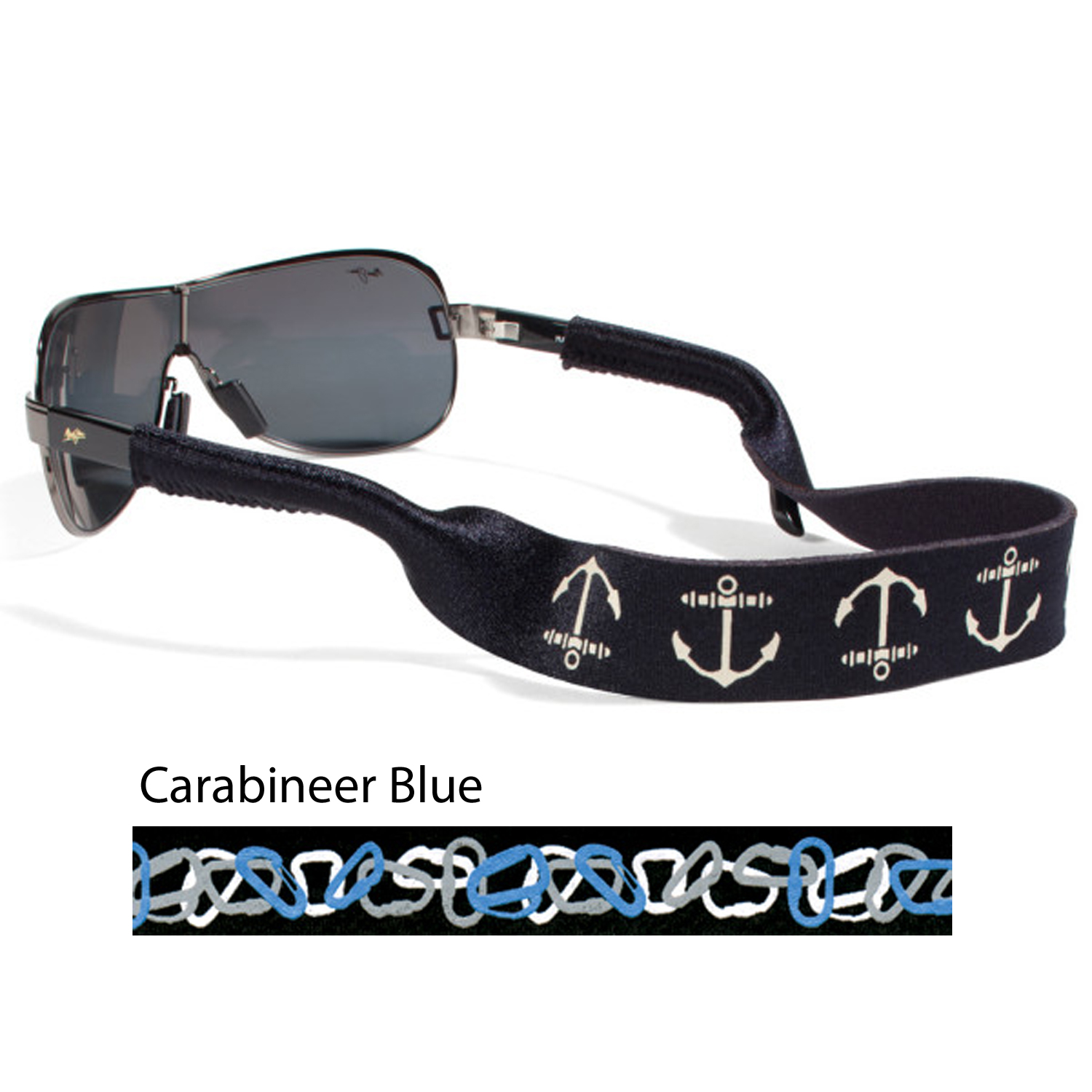 CROAKIES XL ICONIC - CARABINEER BLUE (XLCBB3HT)