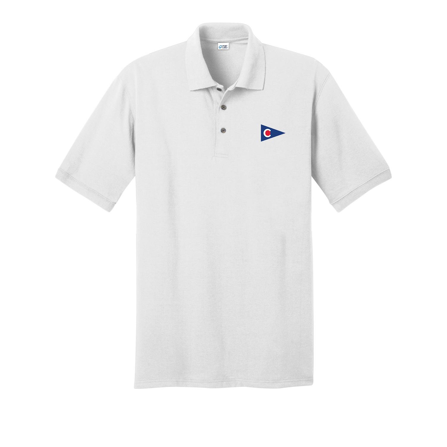 Chapoquoit Yacht Club - Men's Cotton Polo