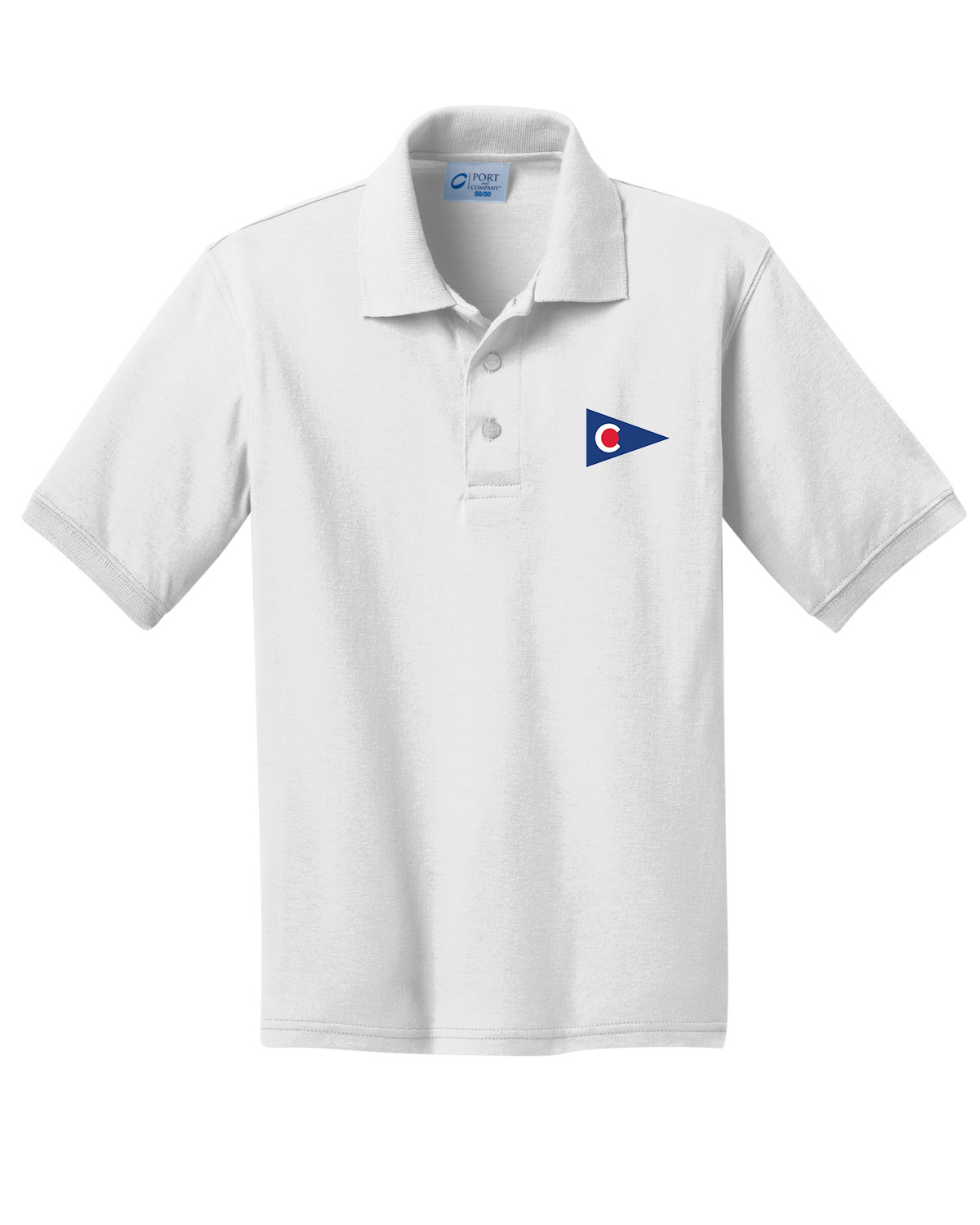 Chapoquoit Yacht Club - Kid's Cotton Polo