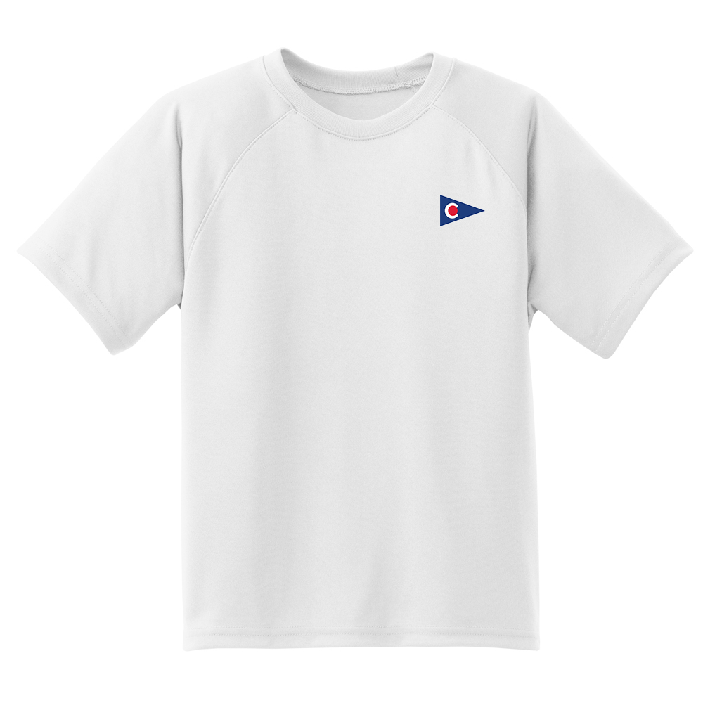 Chapoquoit Yacht Club - Kid's Tech Tee S/S