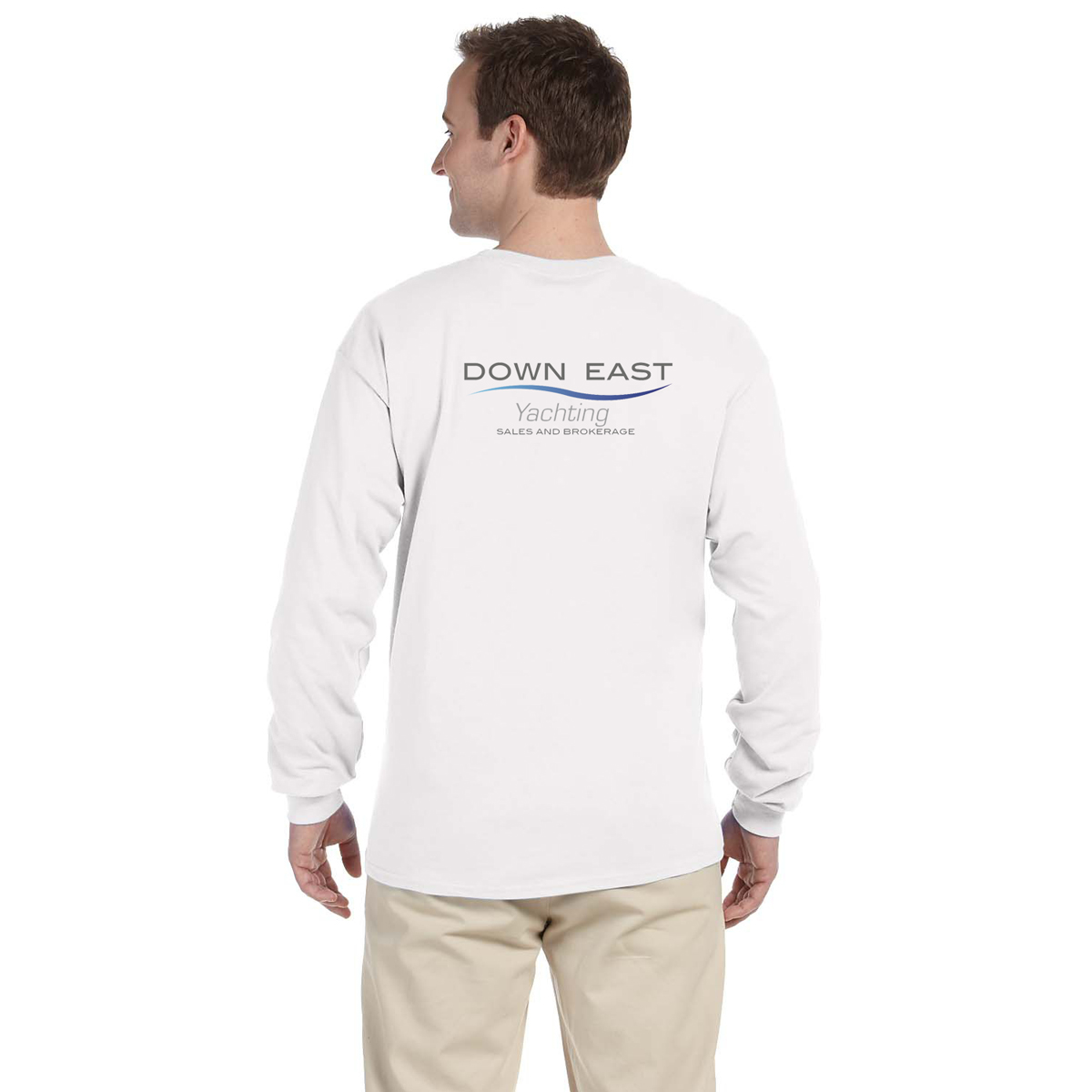 DOWN EAST YACHTING - M'S L/S TECH TEE