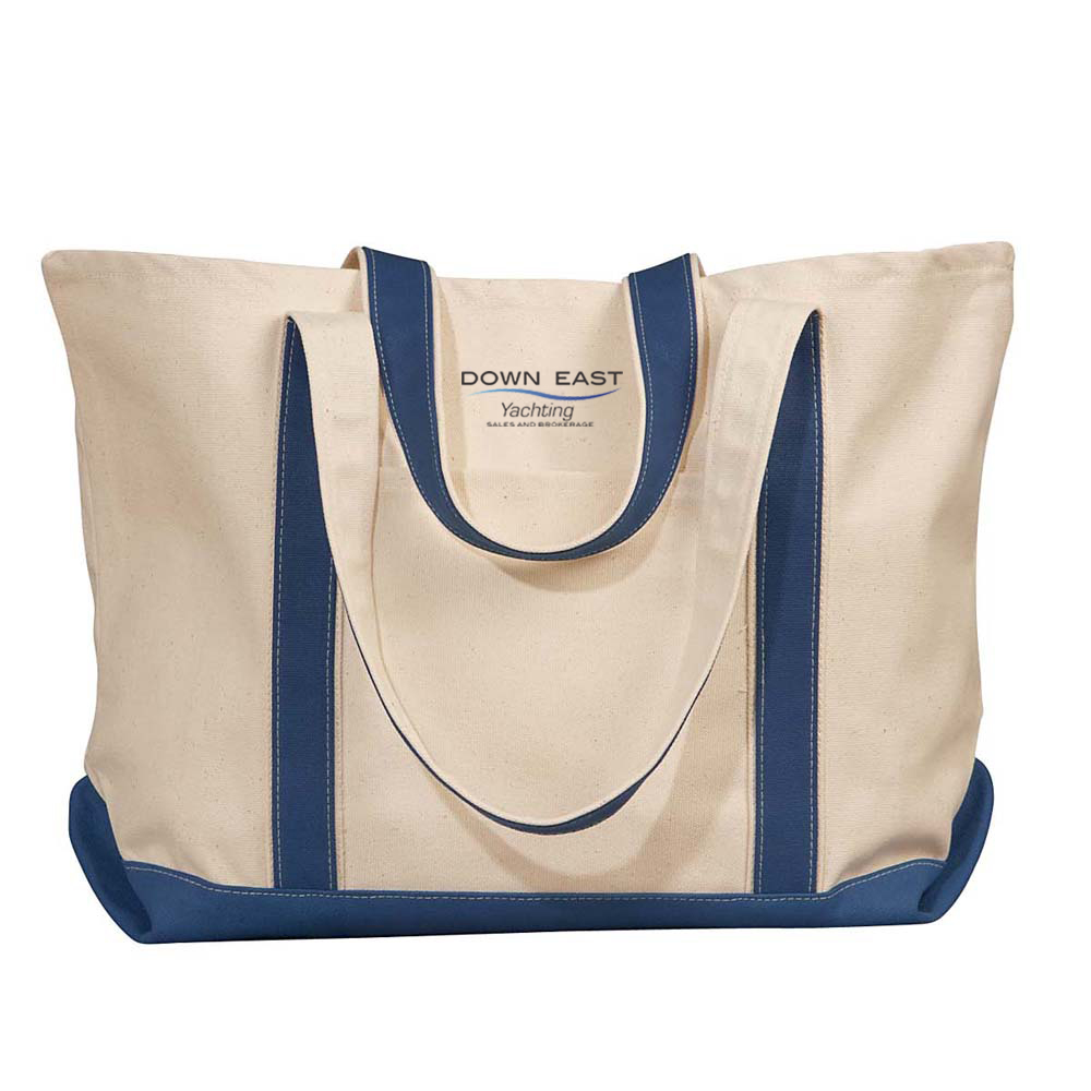 DOWN EAST YACHTING - CANVAS TOTE