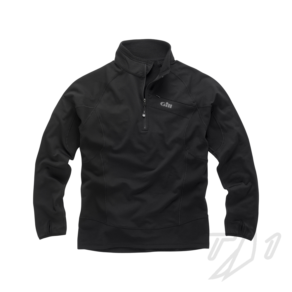 MENS THERMOGRID ZIP NECK PULLOVER (1333)