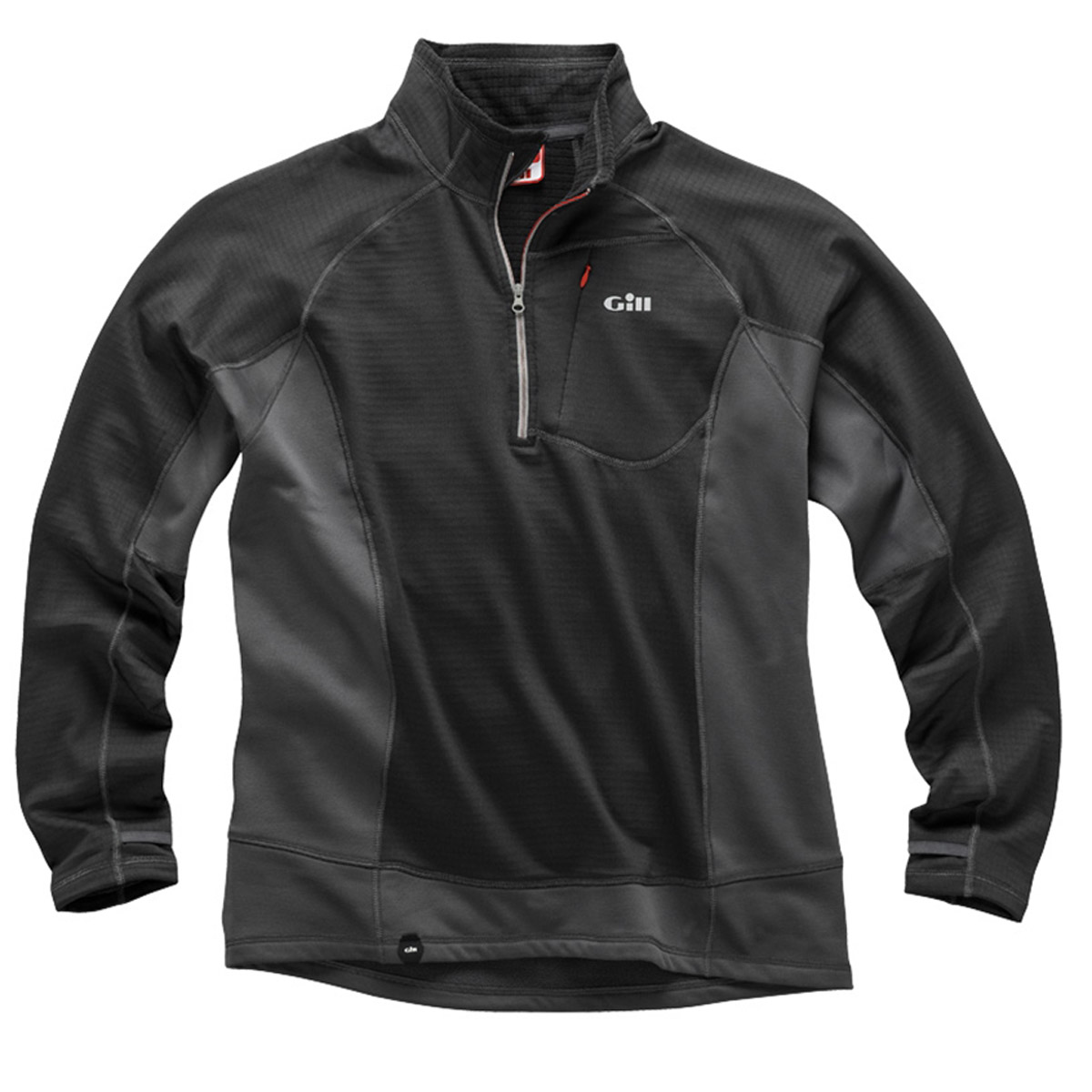 GILL THERMOGRID ZIP NECK (1344)