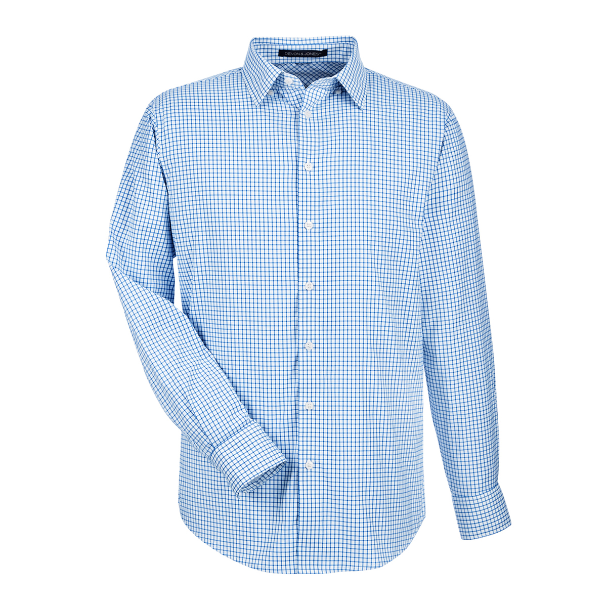 CROWN LUX PERF MICRO WINDOW PANE SHIRT