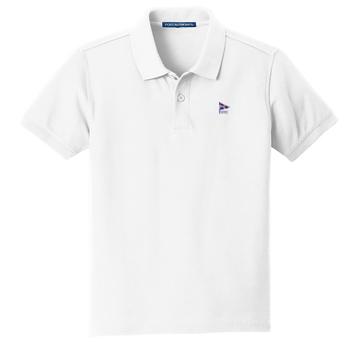 Devon Yacht Club -  Youth Cotton Polo