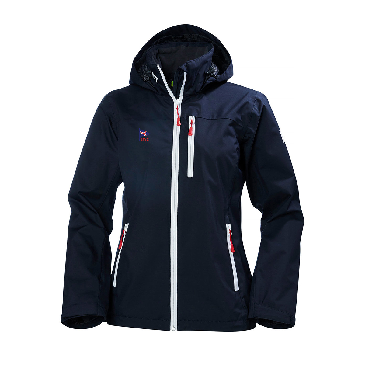 DEVON YACHT CLUB HELLY HANSEN W's HOODED CREW JKT