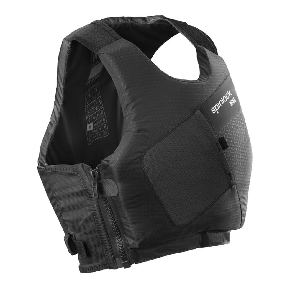 SPINLOCK WING SIDE-ZIP PFD (DW-BAS)