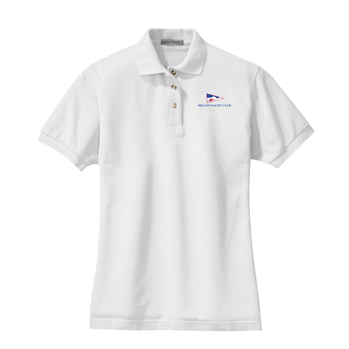DILLON YACHT CLUB - W'S COTTON POLO