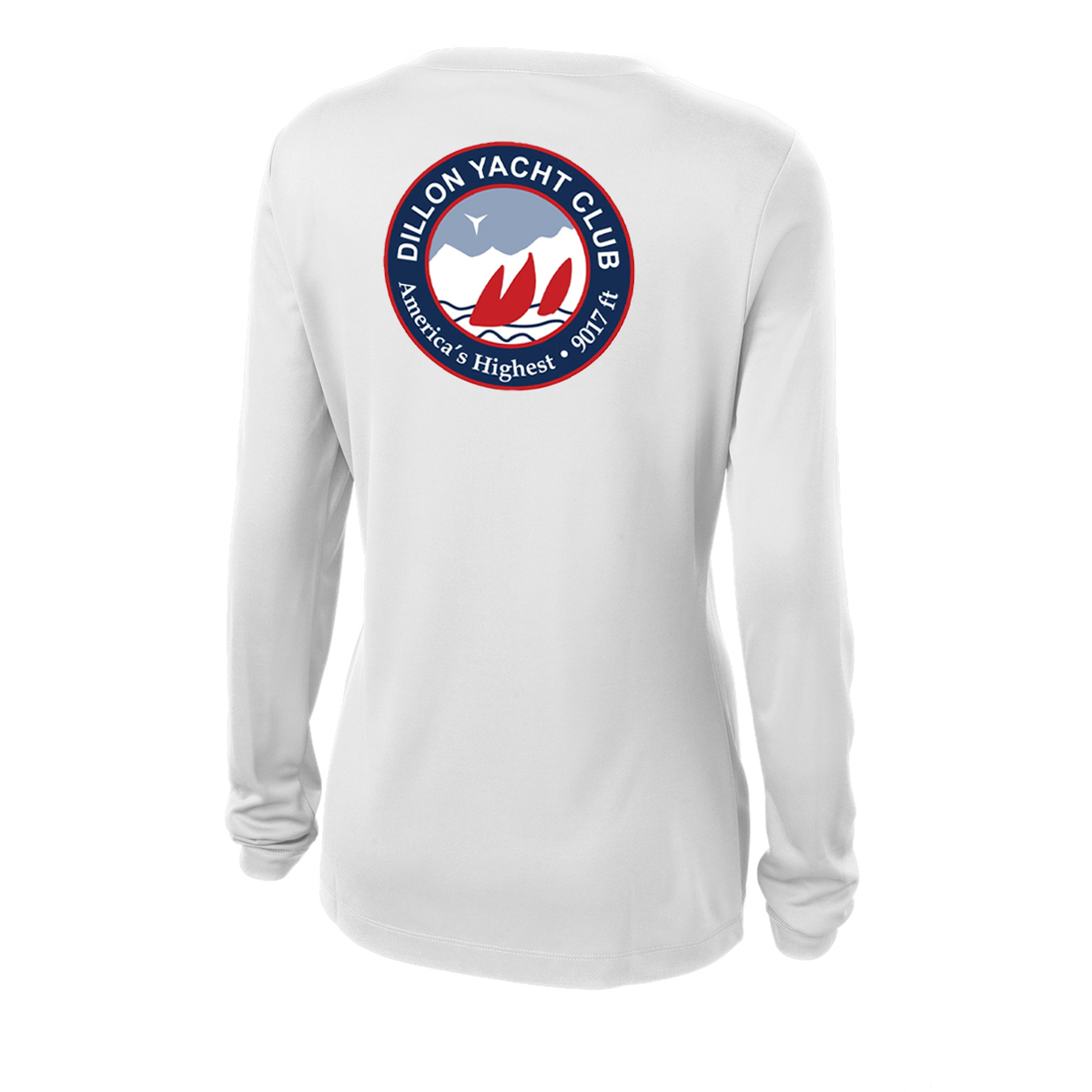 Dillon Yacht Club - Women's L/S TECH TEE