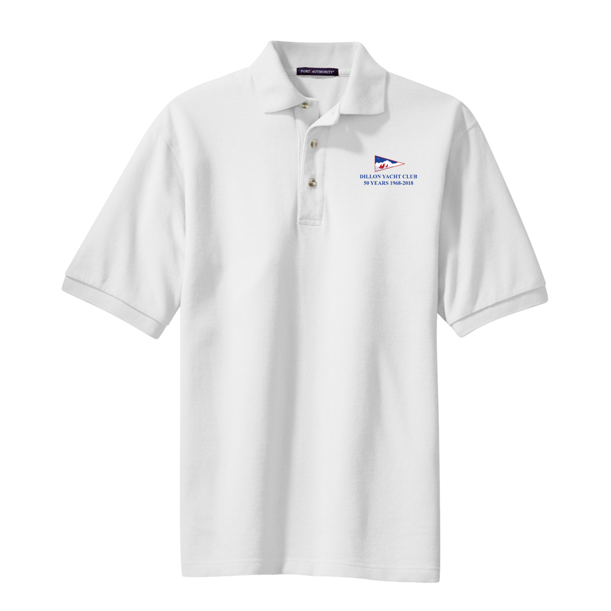 DILLON YACHT CLUB 50YR- M'S COTTON POLO