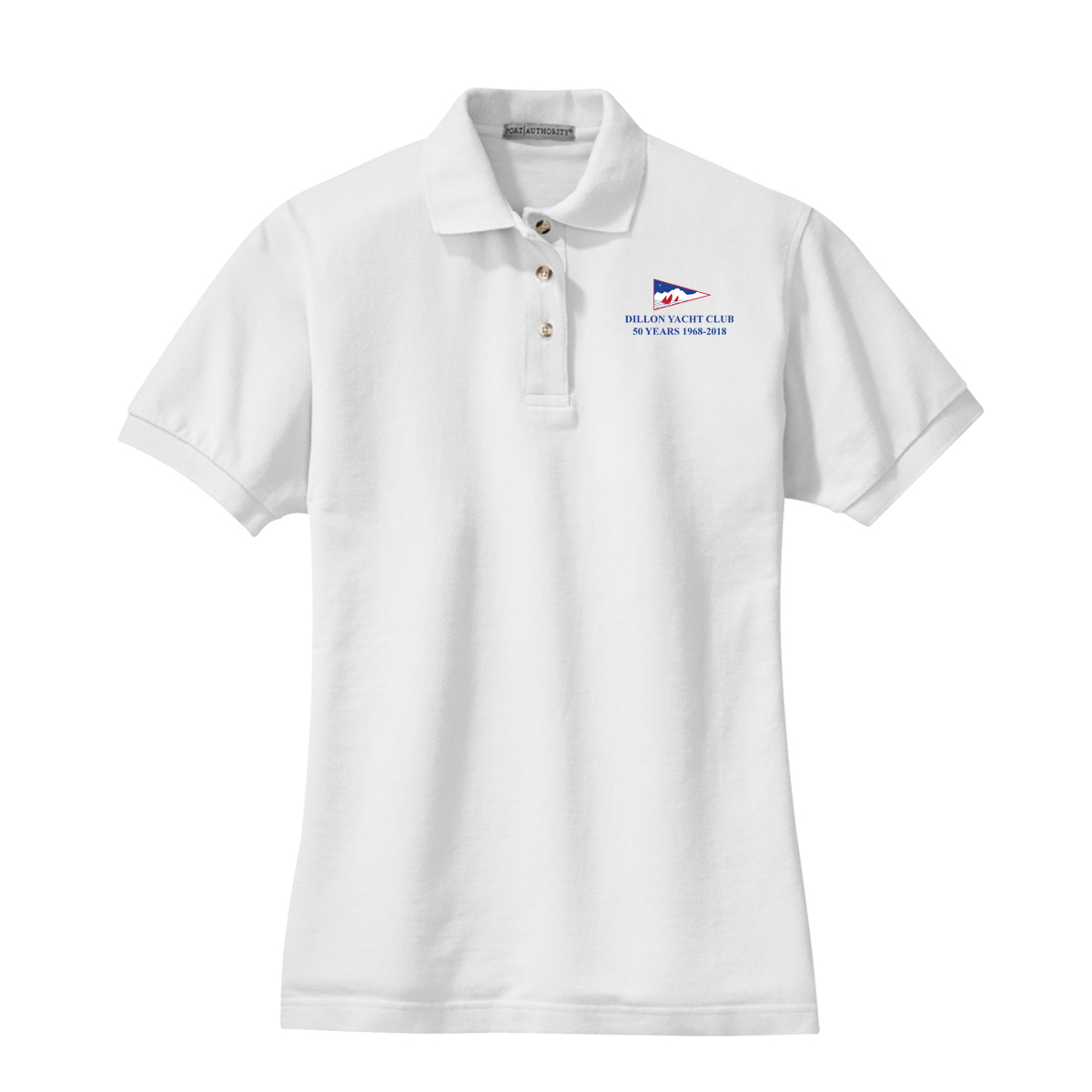 DILLON YACHT CLUB 50YR- W'S COTTON POLO
