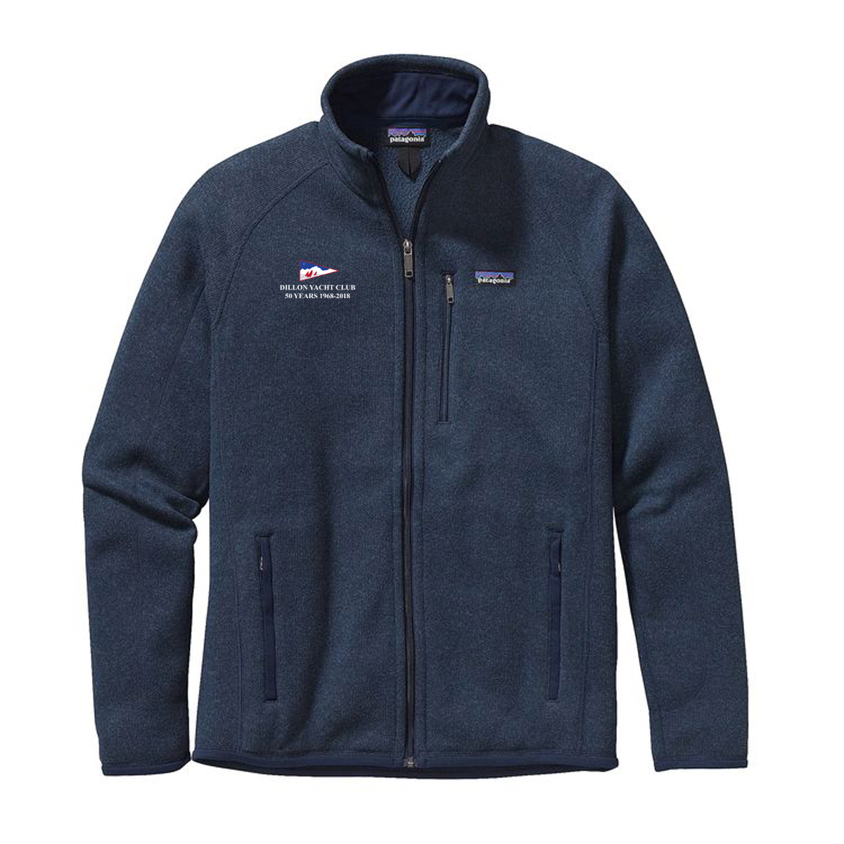 DILLON YACHT CLUB 50YR- M'S PATAGONIA BETTER SWEATER JACKET