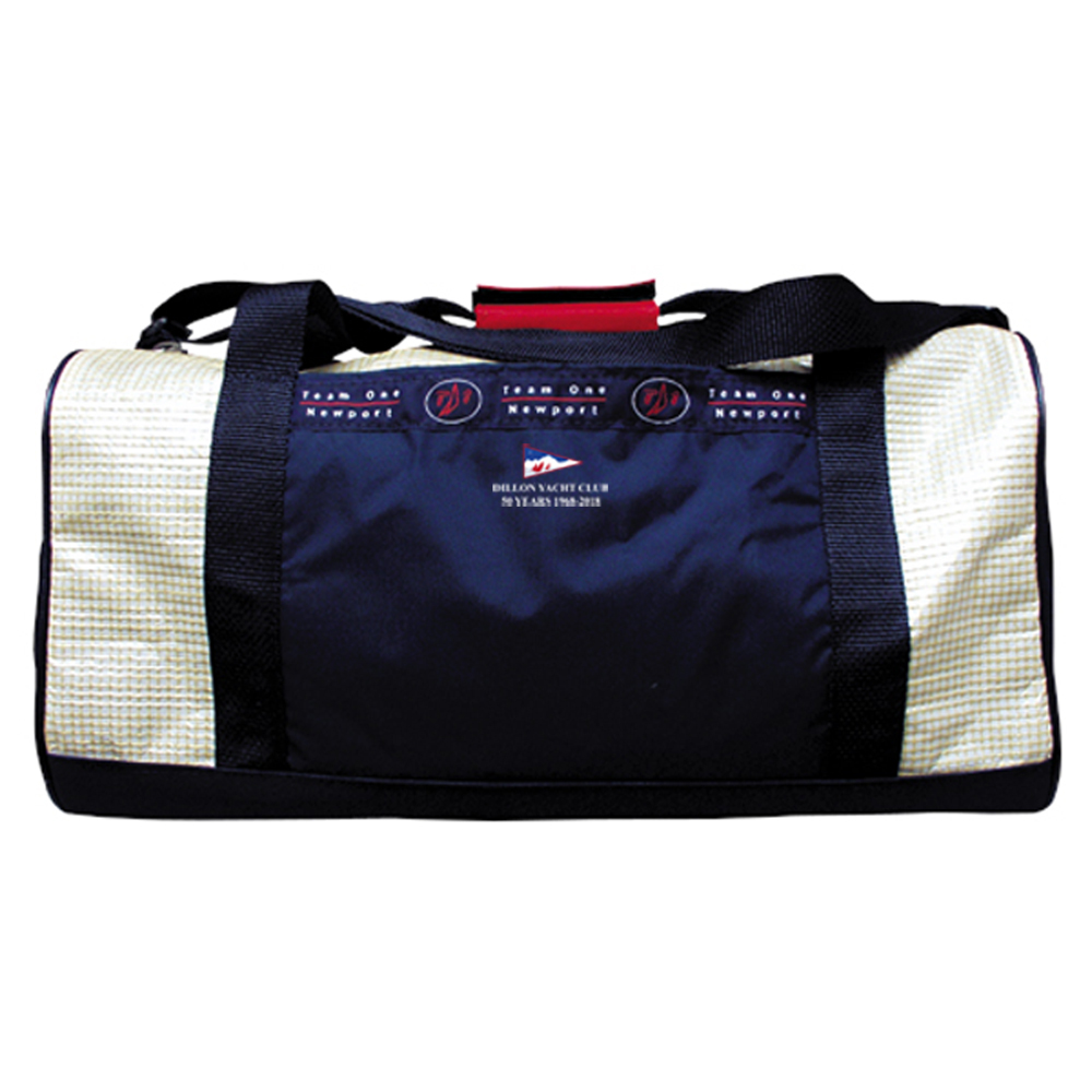 DILLON YACHT CLUB 50YR- TEAM 1 SAILCLOTH DUFFEL