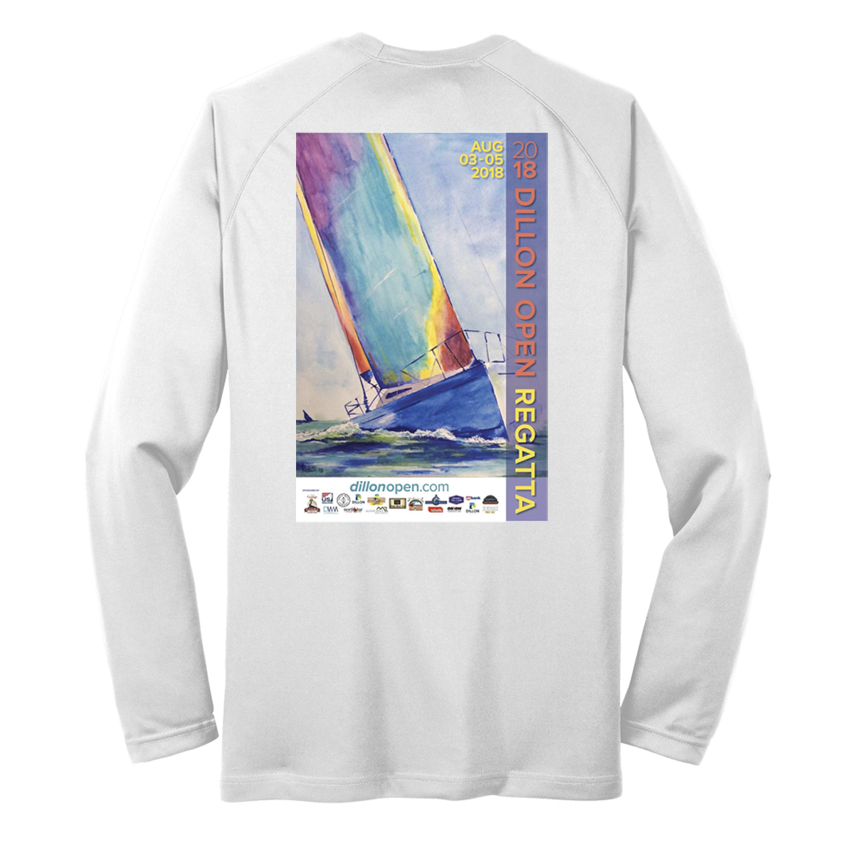 DILLON OPEN REGATTA 2018 - M'S L/S TECH TEE